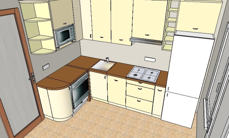 планировка кухни 9 кв м