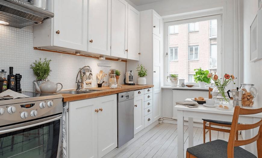 кухонный гарнитур для 9 метровой кухни