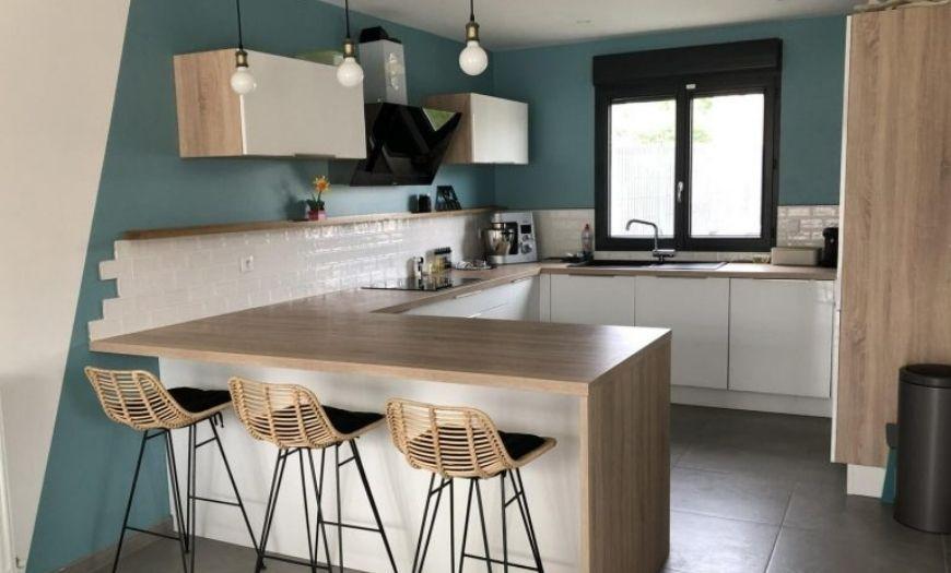 Кухня в Скандинавском Стиле в интерьере: 190+ фото, оформление, планировка