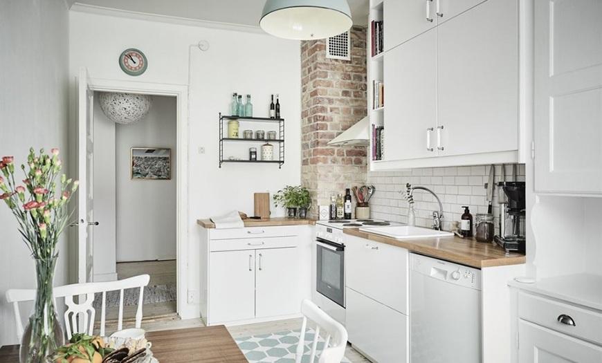 примеры кухонь 9 кв м