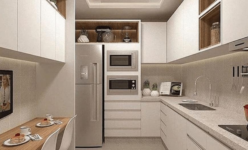 кухня 9 кв м угловая