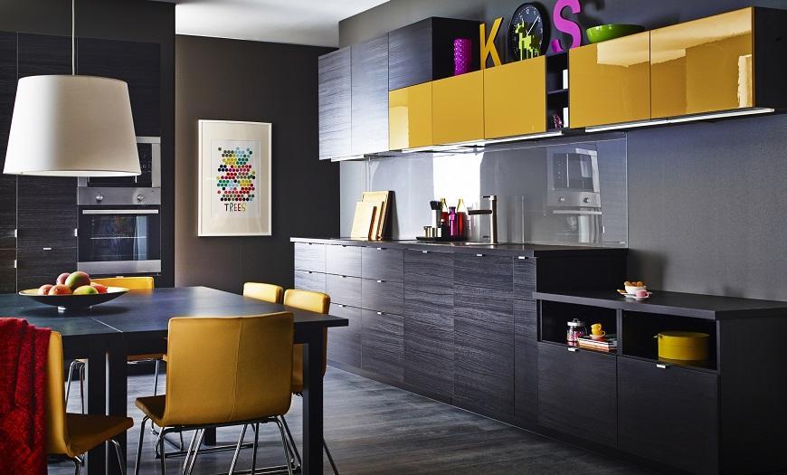 Шкафы для кухни икеа