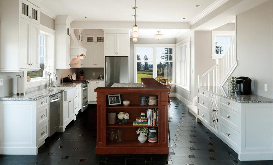 теплый пол в кухне