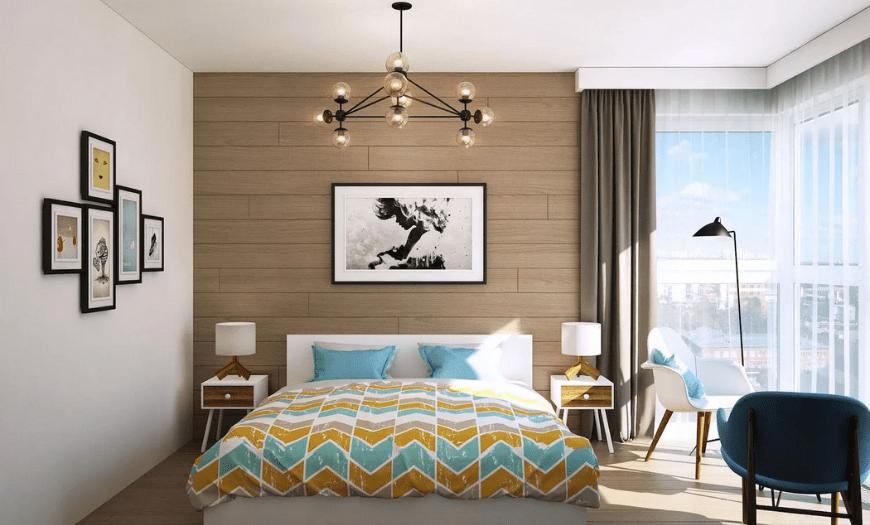 Обои для спальни: 200+ фото красивых идей и модных новинок в интерьере в 2021 году
