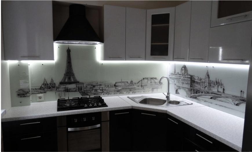 фото фартуки кухни