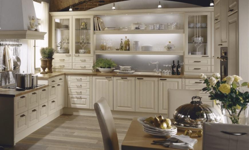 кухни в стиле прованс в квартире