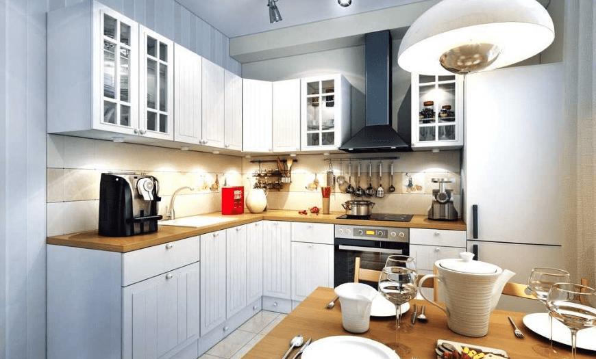 Дизайн угловой кухни  в 2021 году: 170+ реальных фото современных идей в интерьере