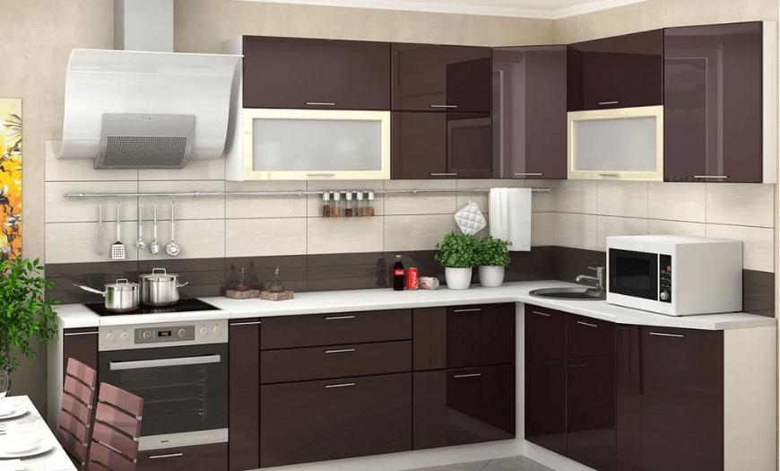 двухуровневые кухни