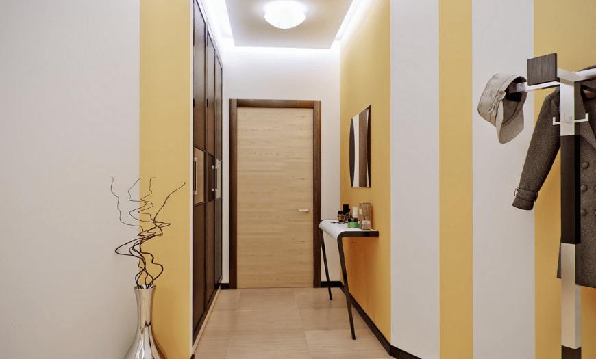 шкаф под потолок в коридоре