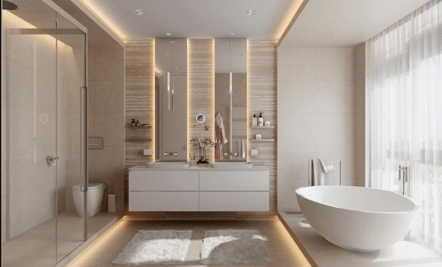 совмещенный душ с туалетом