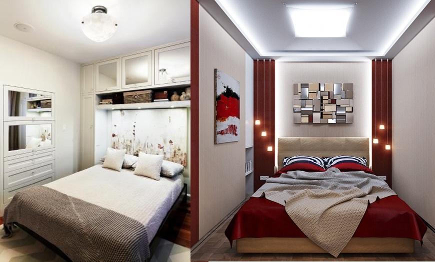 размер спальни