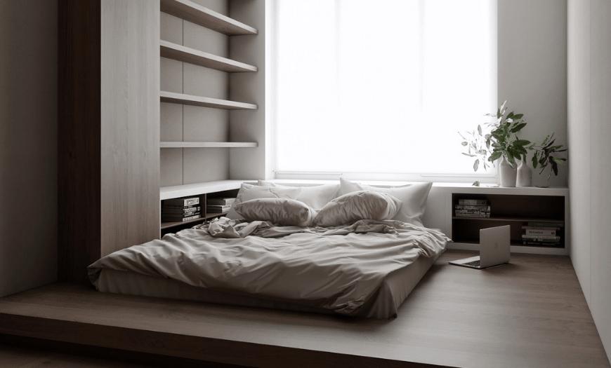 маленькие спальни дизайн