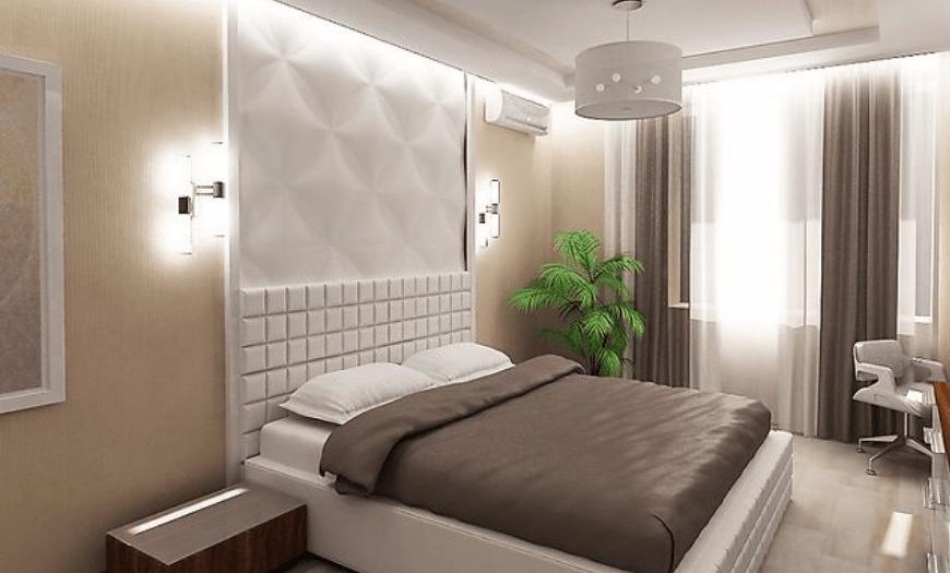 дизайн спальни 5 на 5