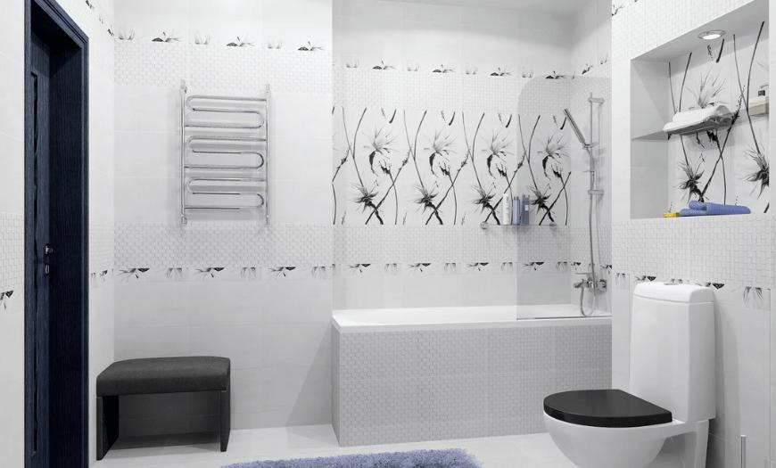 проекты ванной совместно с туалетом