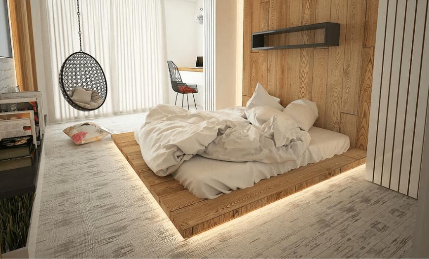 идеи для маленькой спальни-гостиной