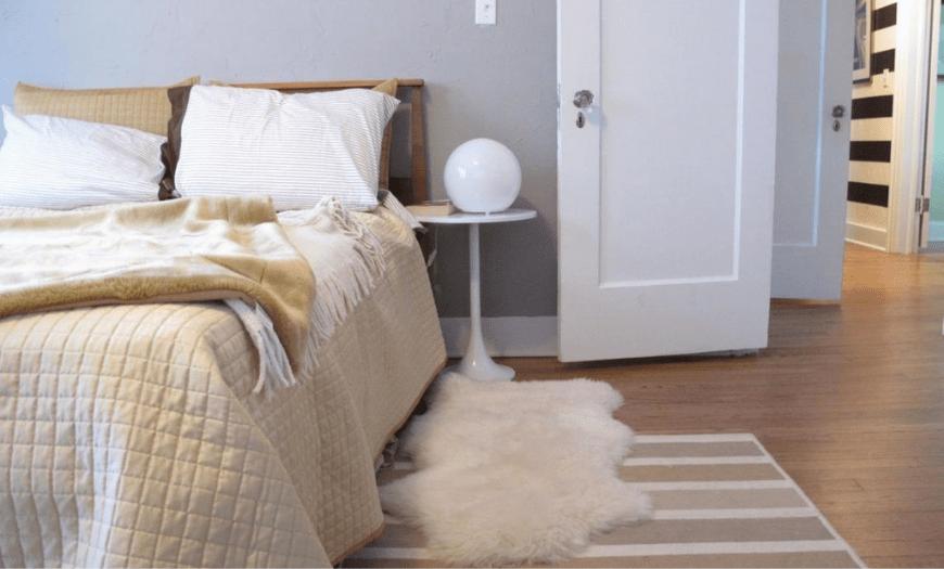 эскиз спальни