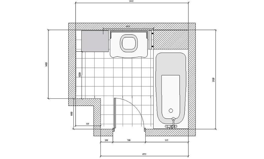 Проектирование санузла
