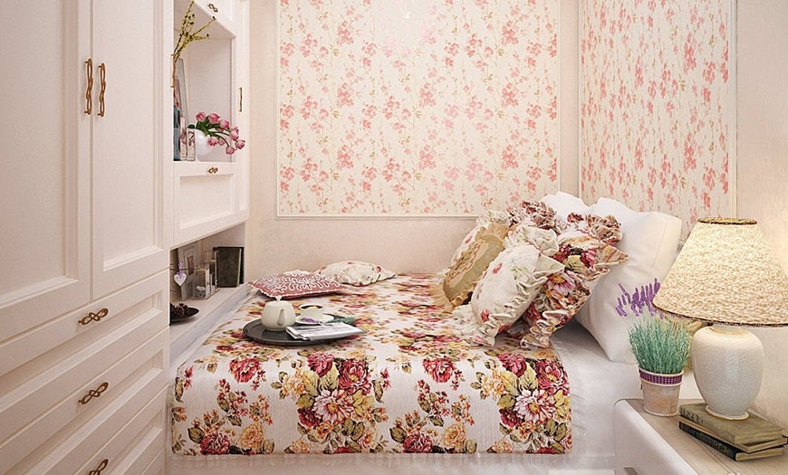 спальня для маленькой комнаты
