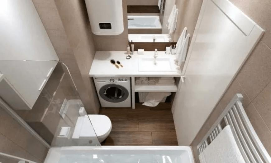 совместить ванную и туалет