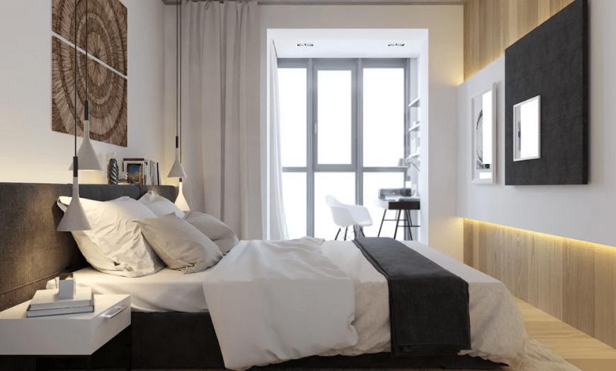 спальные комнаты дизайн