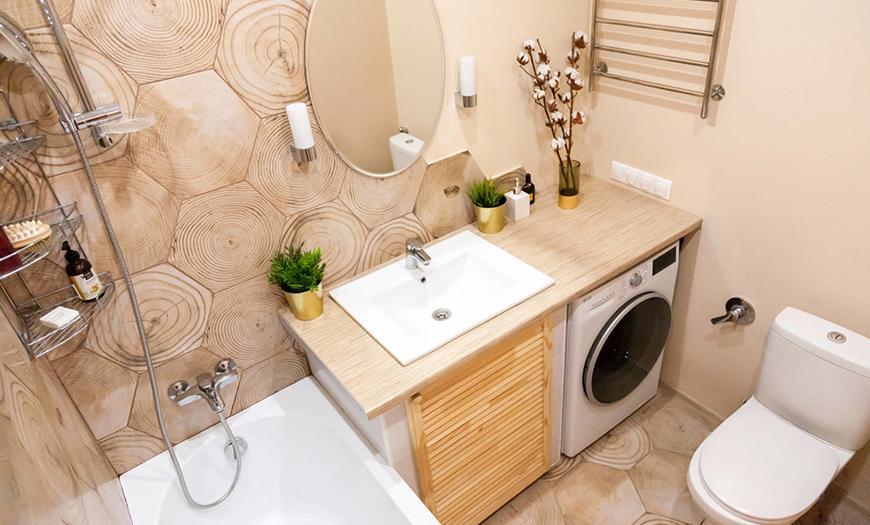 фото ремонта ванной комнаты и туалета