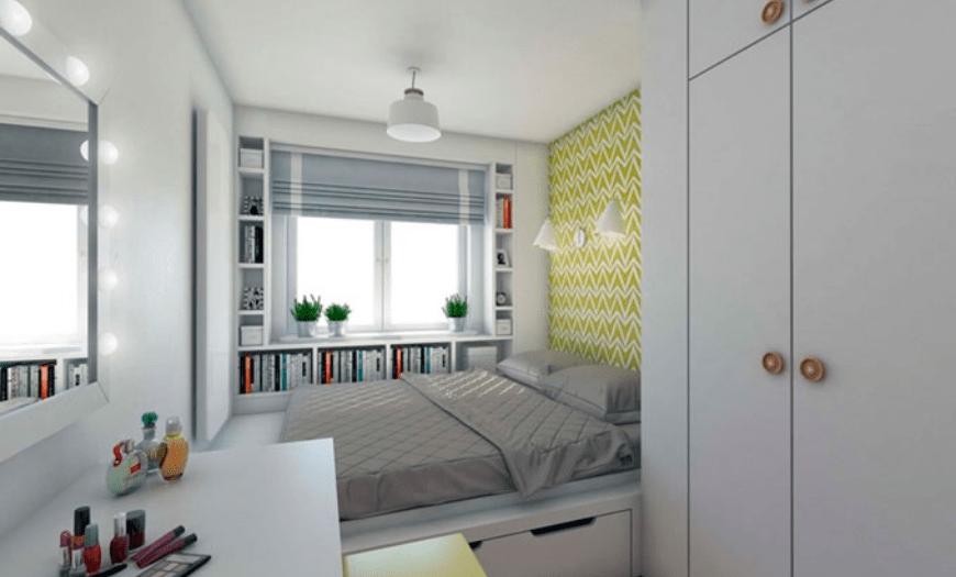 маленькая комната дизайн