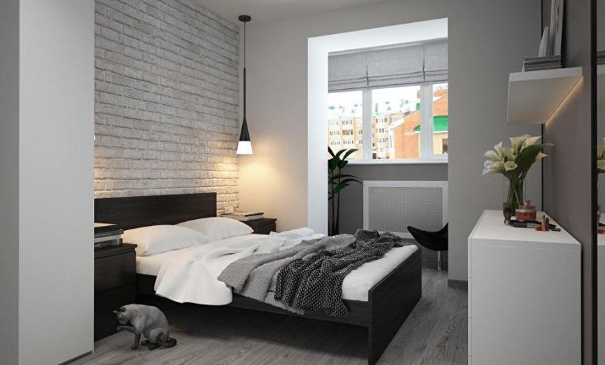 Дизайн маленькой спальни: 200 фото современных комнат