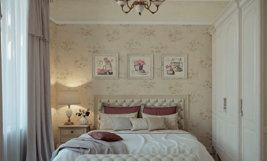 мебель в маленькую спальню
