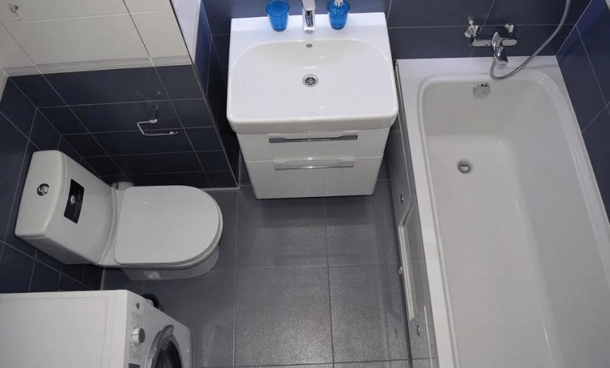 туалет ванна