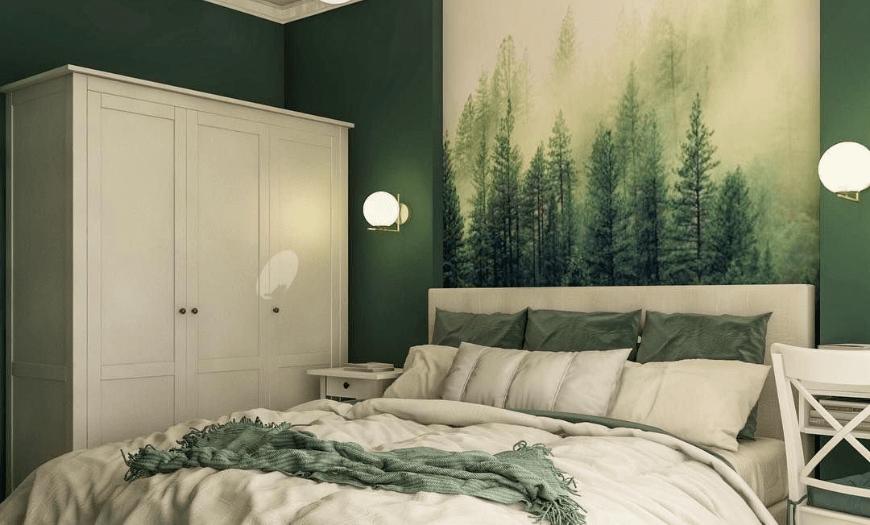 спальня в маленькой комнате дизайн фото