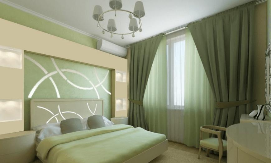 варианты спален в небольших комнатах