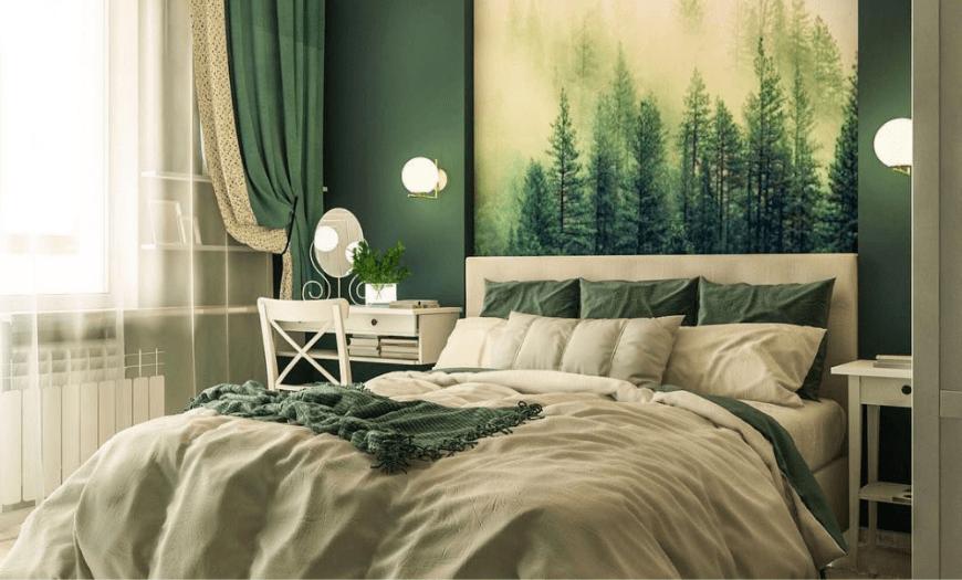 дизайн небольшой спальни в доме