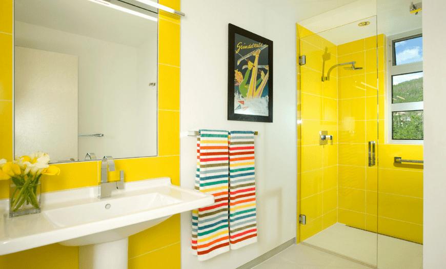 эргономика ванной комнаты совмещенной с туалетом