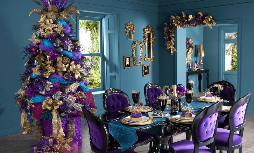 стиль Бахо-шик для новогодней красавицы