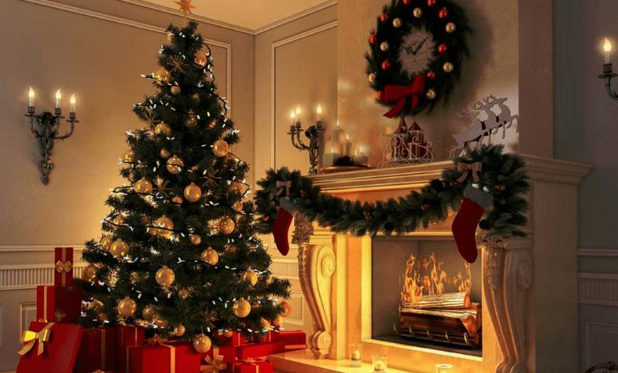 украшения на елку в классическом стиле