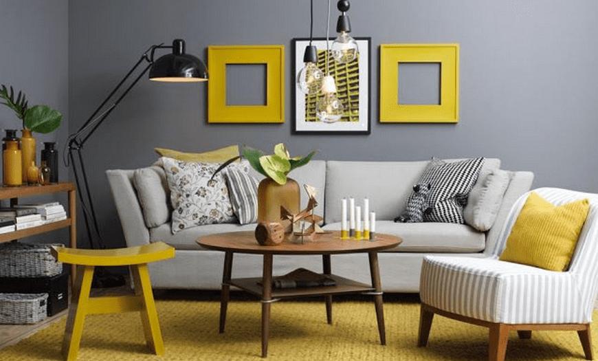 как правильно сочетать цвета в интерьере гостиной фото