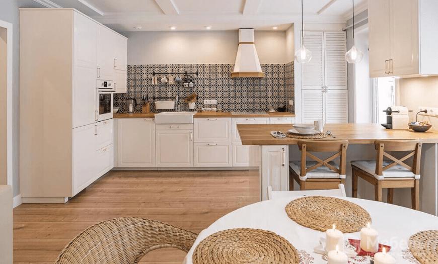 Кухня-гостиная икея