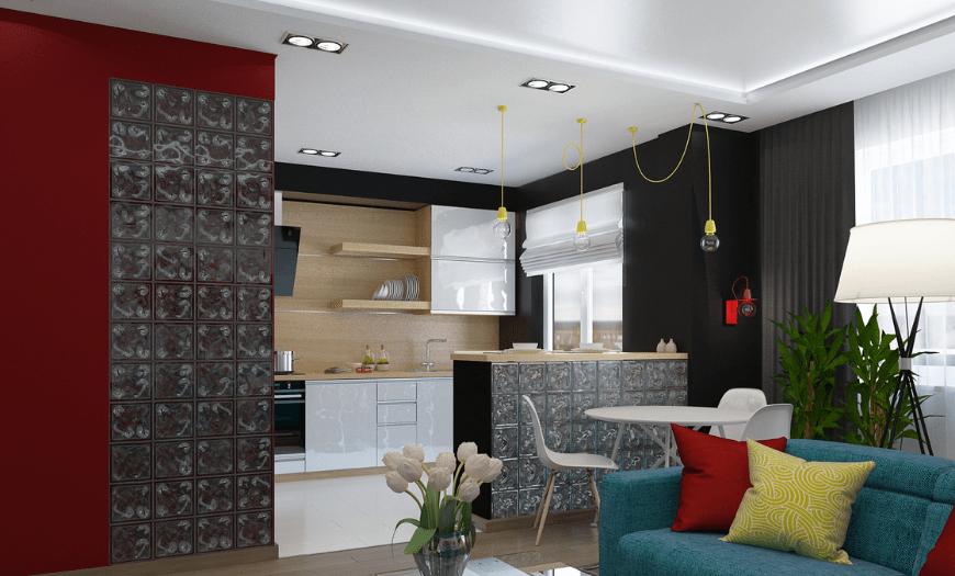 Дизайн кухни-гостиной [2021]: 230+ фото красивых интерьеров