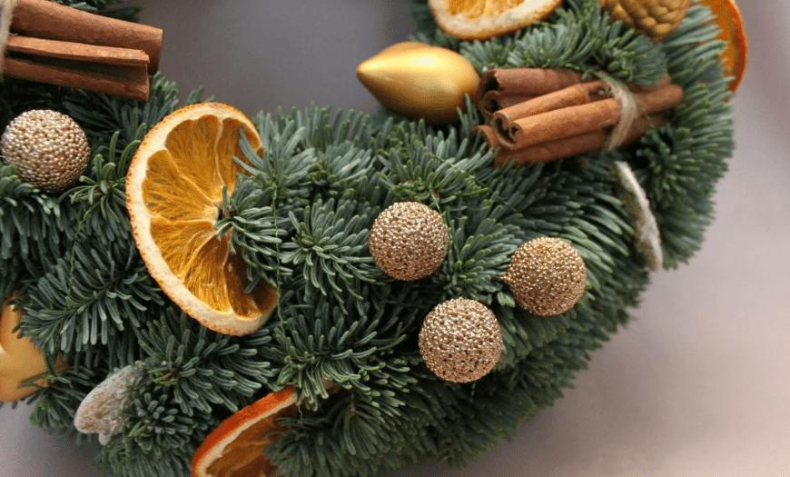 Эко декор на новый год