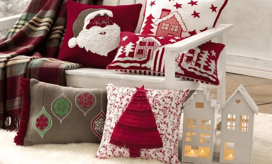 Текстиль в новогодней тематике