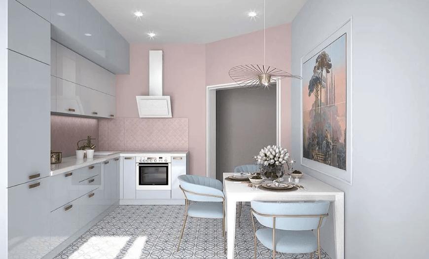 совместимость цветовой гаммы в интерьере кухни