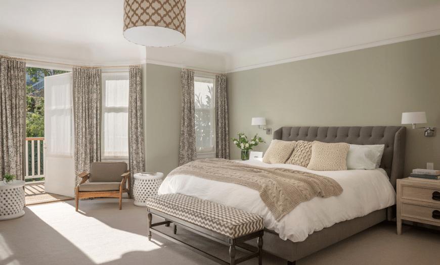подбор цвета интерьера спальни