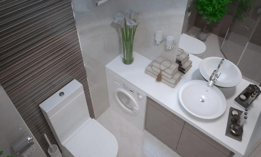 Дизайн туалета 3 кв.м