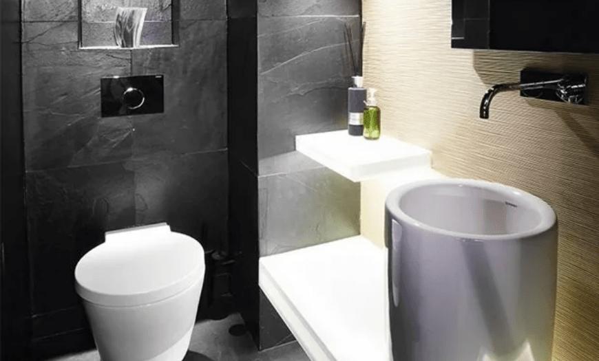 Дизайн туалета (2021) - 150 фото лучших интерьеров санузла