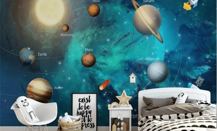 Космический дизайн детской