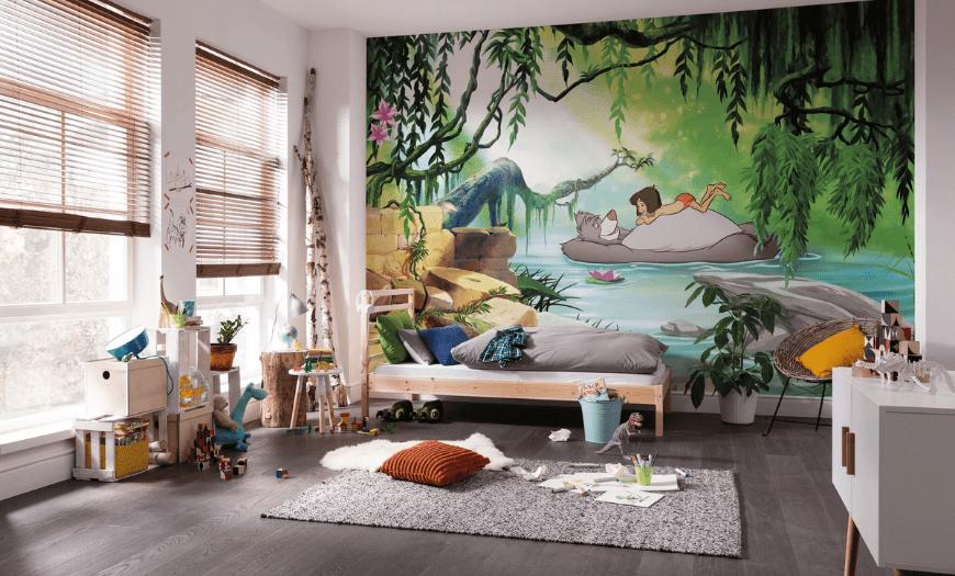 Интерьер в стиле джунгли