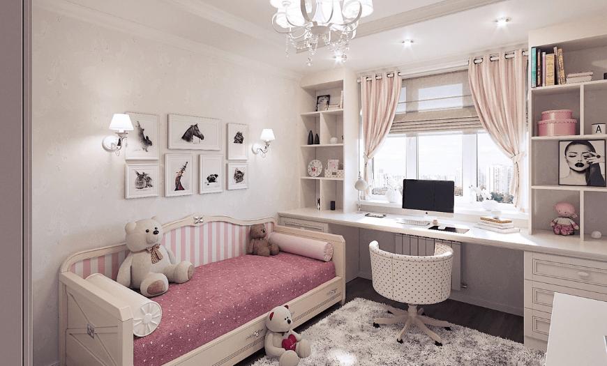 Комната для девочки 7 лет