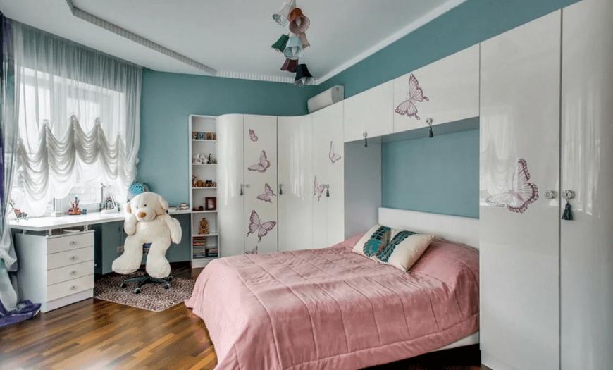 Интерьер комнаты для девочки 7 лет