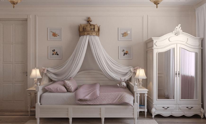 Детская комната к классическом стиле