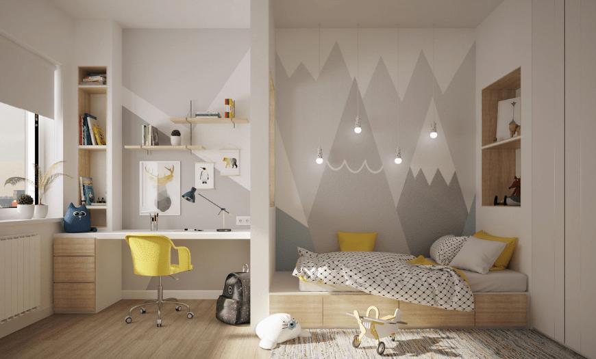 Интерьер современной комнаты для детей